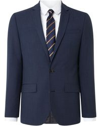 Kenneth Cole | Men's Waldorf Slim Fit Micro Grid Check Suit Jacket | Lyst