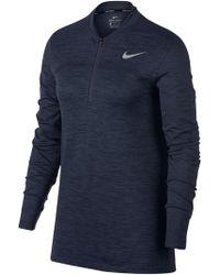 Nike - Seemless 12 Zip Dry Jumper - Lyst