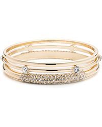Anne Klein - Box Set Bangle Trio - Lyst