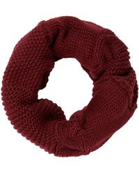 Label Lab - Carmen Cable Knitted Snood - Lyst