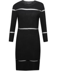 French Connection - Danni Ladder Stitch Knitted Dress - Lyst
