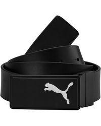 PUMA - Reversible Leather Ctl Belt - Lyst