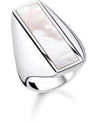 Thomas Sabo - Heritage Mother Of Pearl Ring - Lyst