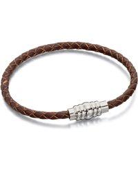 Fred Bennett - B4727 Mens Bracelet - Lyst
