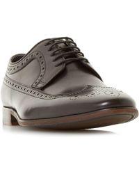 Bertie - Black 'parady' American Brogue Shoes - Lyst