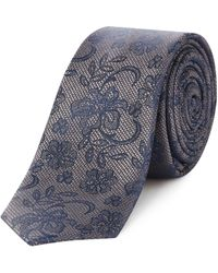 Label Lab - Negroni Woven Paisley Lace Tie - Lyst