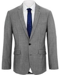 Kenneth Cole - Kennedy Grey Mohair Jacket - Lyst