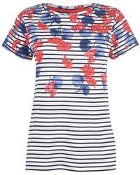 Joules Lilypad Nessa T Shirt - Blue