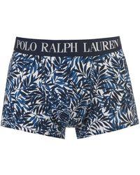 Polo Ralph Lauren Polo Printed Trunks - Blue
