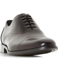 Dune - Robb Round Toecap Oxford Shoes - Lyst