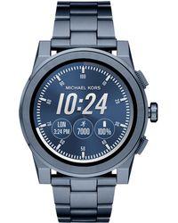 Michael Kors - Mkt5028 Men`s Grayson Smartwatch - Lyst