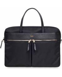 Knomo Hanover Briefcase 14in - Black
