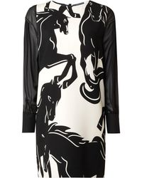Sportmax Code | Renier Horse Print Dress | Lyst