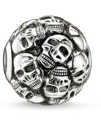 Thomas Sabo - Karma Bead Skulls - Lyst