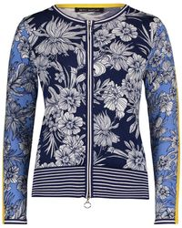 Betty Barclay Floral Print Cardigan - Blue