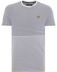 Lyle & Scott - Men's Breton T Shirt - Lyst