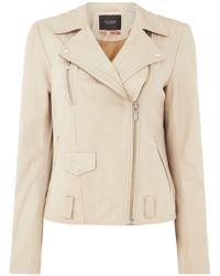 Maison Scotch - Basic Leather Jacket - Lyst