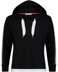 Betty Barclay Sweat Top With Hood - Black