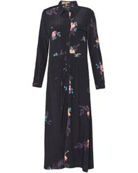 French Connection - Delphine Drape Shirt Dress - Lyst