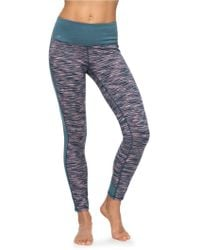 Roxy - Nakkan Reversible Yoga Leggings - Lyst