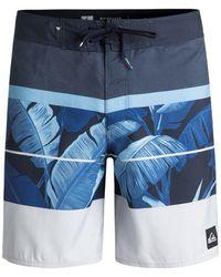 Quiksilver - Men's Slab Island 17 Board Shorts - Lyst