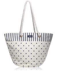 Joules Summer Bag Womens Printed Beach Bag S/s - Multicolour