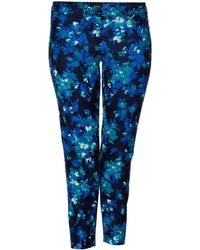 Persona - Plus Size Ravel Long Length Floral Trouser - Lyst