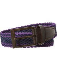 Ted Baker - Sorcha Woven Two Colour Elastic Belt - Lyst