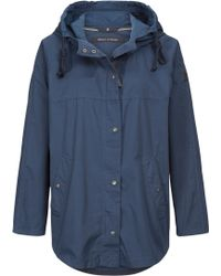 Marc O'polo - Cape Parka In Cotton-mix - Lyst