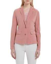 Marc O'polo - Jersey Blazer In Pure Cotton - Lyst