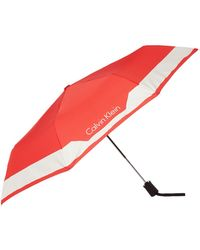 CALVIN KLEIN 205W39NYC - Medium Foldable Umbrella - Lyst
