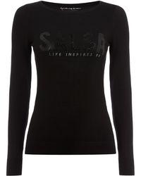 Salsa | Long Sleeve Knitted Jumper | Lyst