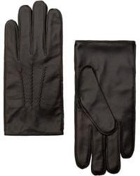 Mango - Leather Gloves - Lyst
