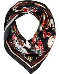 Soaked In Luxury | Lightweight Floral Scarf | Lyst