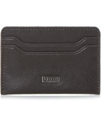 Dune Orchard Leather Card Holder - Brown