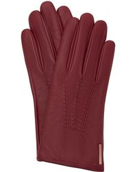 Ted Baker - Hollis Metallic Bar Leather Gloves - Lyst