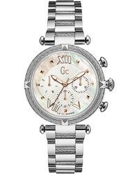 Gc - Y18002l1 Ladies` Dress Watch - Lyst