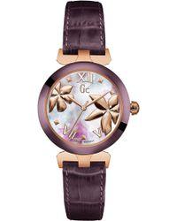 Gc - Y22001l3 Ladies` Dress Watch - Lyst