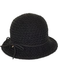 James Lakeland - Mohair Texture Cloche - Lyst