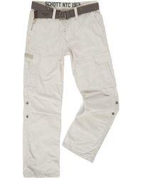 Schott Nyc - Cargo Trousers - Lyst