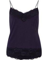 Jigsaw - Lace Vest And Knicker Set - Lyst