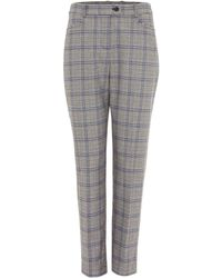 Phase Eight - Terri Check Trousers - Lyst