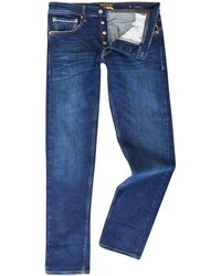 Replay - Men's Grover Selvedge Stretch Straight Jeans - Lyst