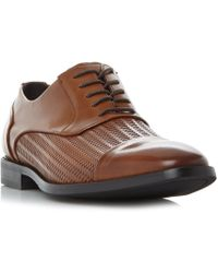Kenneth Cole - Ticket Balance Weave Detail Formal Shoe - Lyst