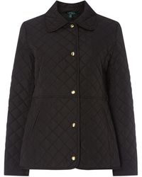 Lauren by Ralph Lauren Lrl Blazer Quilt Ld92 - Black