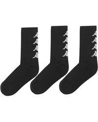 Kappa - 3 Pack Authentic Amal Socks - Lyst