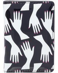 Lulu Guinness - Hug Print Matilda Cardholder - Lyst