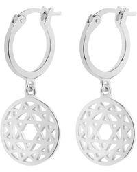 Daisy London - Heart Chakra Earrings - Lyst