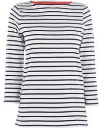 Joules Long Sleeve Harbour T Shirt - Multicolour
