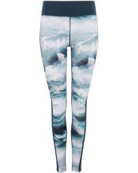 Label Lab - Ocean Run Print Legging - Lyst